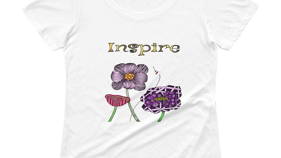 Ladies' Scoopneck T-Shirt  Inspire