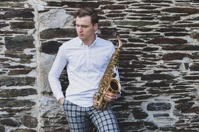 wedding saxophonist cornwall