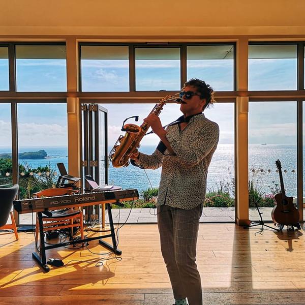 wedding saxophonist plymouth