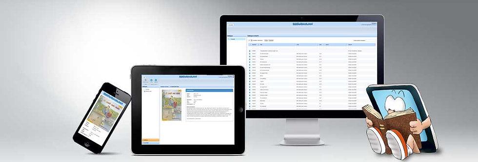 Onlineklas bibliotheek - jaarabonnement
