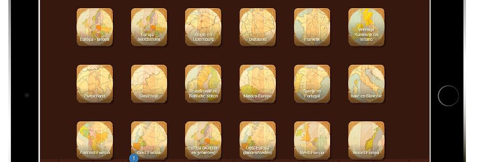 Onlineklas Topografie leerlingmodule (30 leerlinglicenties)