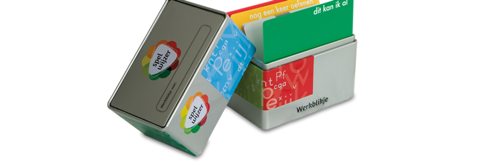 Spelwijzer - Blikje leeg met tabbladen
