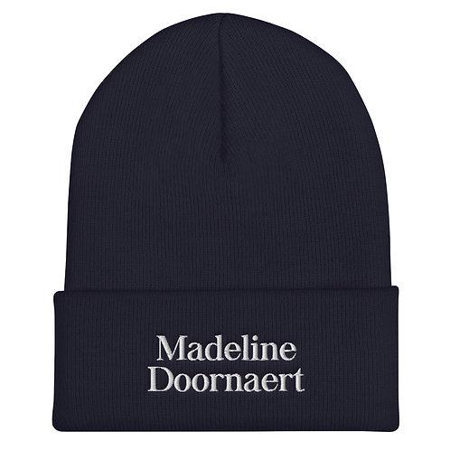 Madeline Doornaert (#008) - Navy Cuffed Beanie