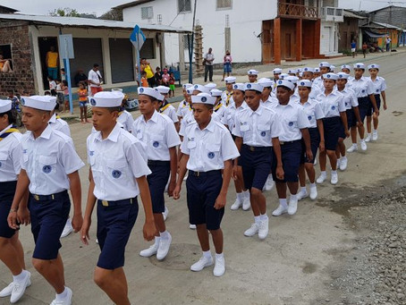 Ceremonia de Ascenso e Investidura de la Brigada de Scouts Marinos
