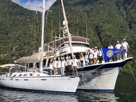Primer Crucero Internacional de Brigadas de Scouts Marinos IYFR