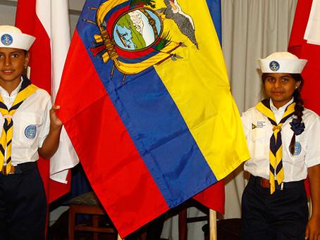 Dos Scouts Marinos Ecuatorianas Viajan a Convención de Punta del Este, Uruguay