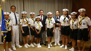 Ceremonia De Relevo De Puente De Mando De La IYFR Flota 99 Guayaquil Ecuador