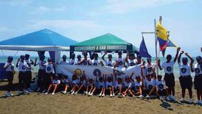 Brigada de Scouts Marinos Lleva a Cabo la Campaña Playa Limpia y Segura - Carnavales 2018