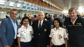 2 Jóvenes de la Brigada de Scouts Marinos van al Intercambio de Nuevas Generaciones en Brasil