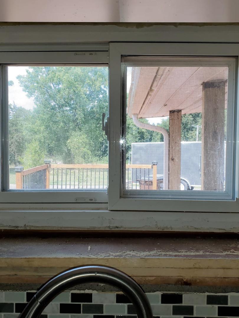 Window trim before