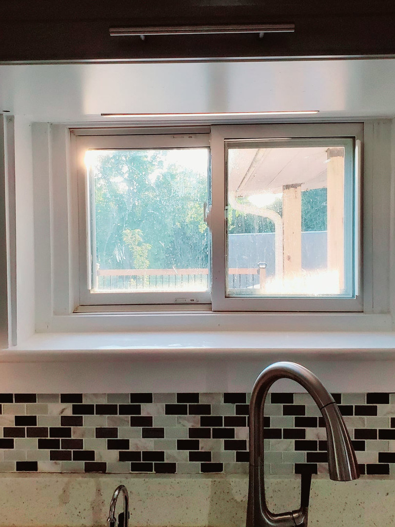 Window trim after