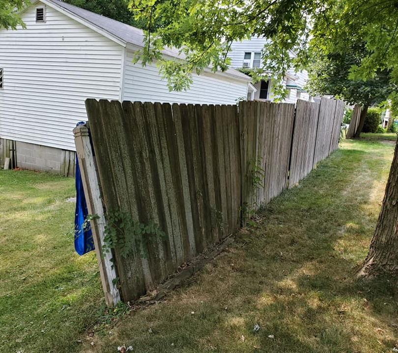 Long fence before