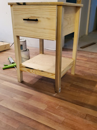 Custom concealment nightstand