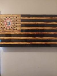 Concealment wall flag