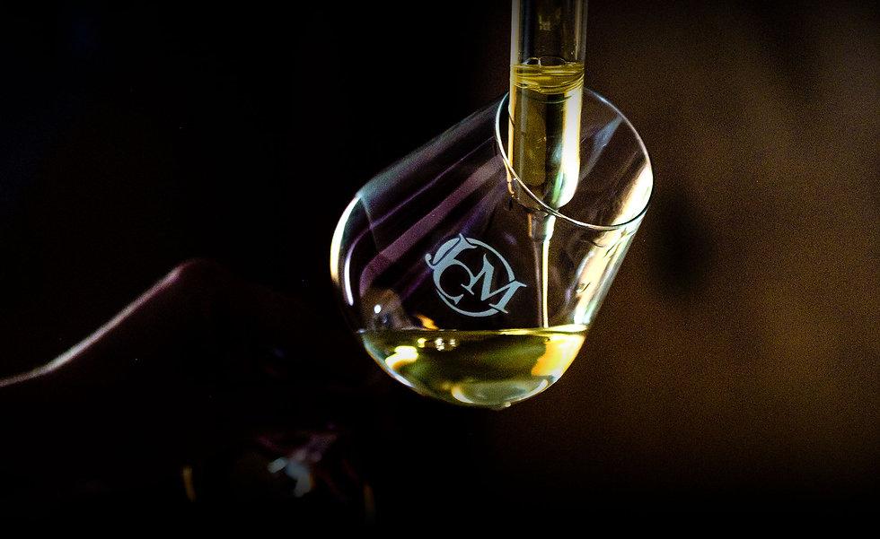 Verre de vin de Chablis