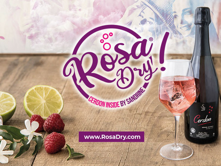 RosaDry® ou la création d'un cocktail à base de vin effervescent