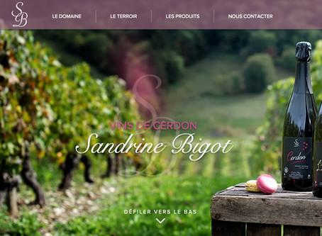 Refonte du site internet d'un Domaine viticole