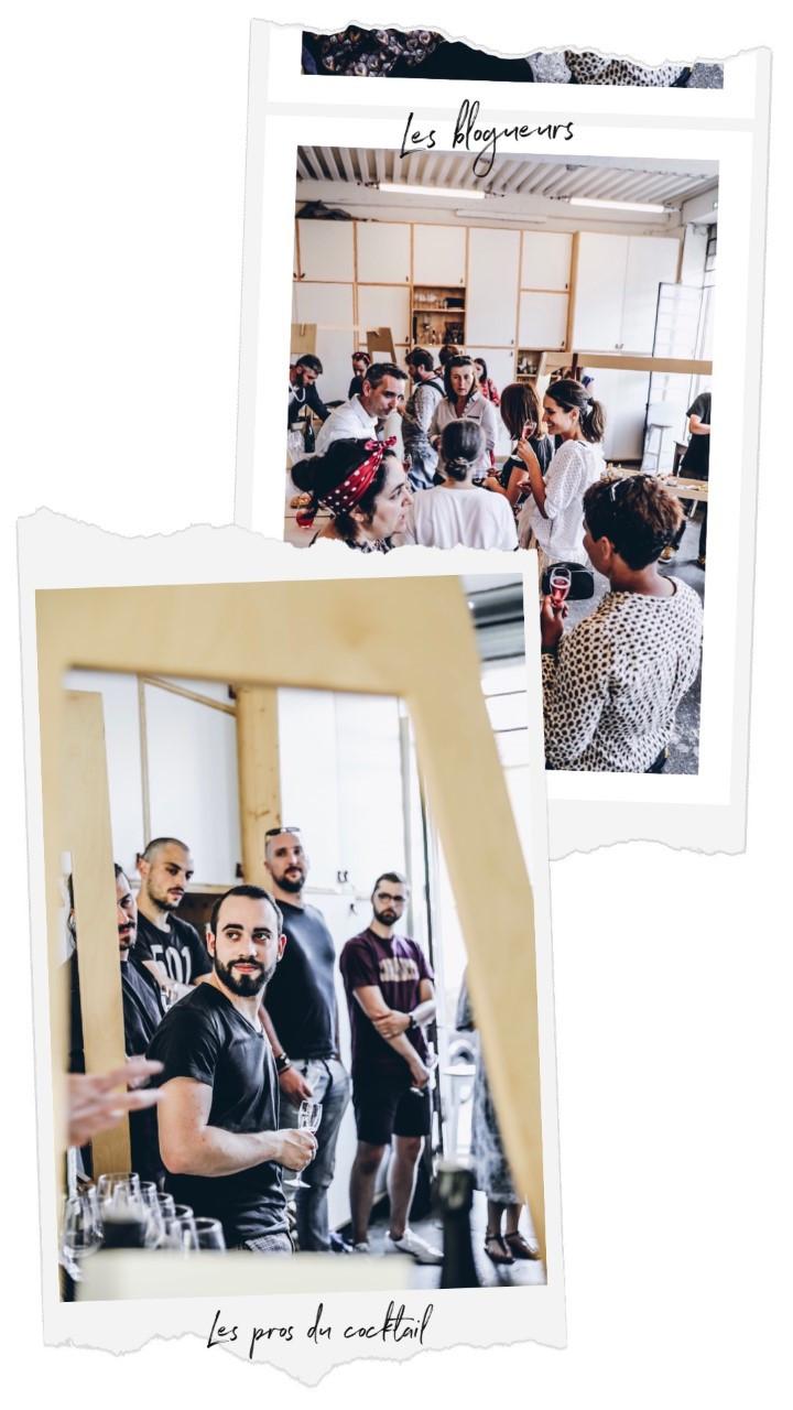 Soirée de lancement RosaDry : moments découvertes pour les barmens et influenceurs