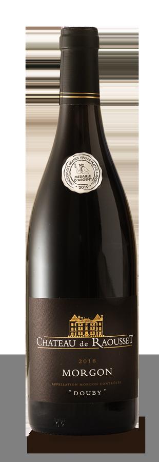 bouteille de vin AOC Morgon