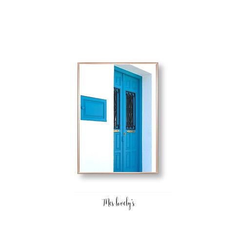 The Blue Entrance