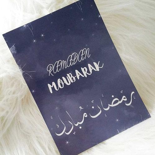 """Carte """"Ramadan Moubarak"""""""
