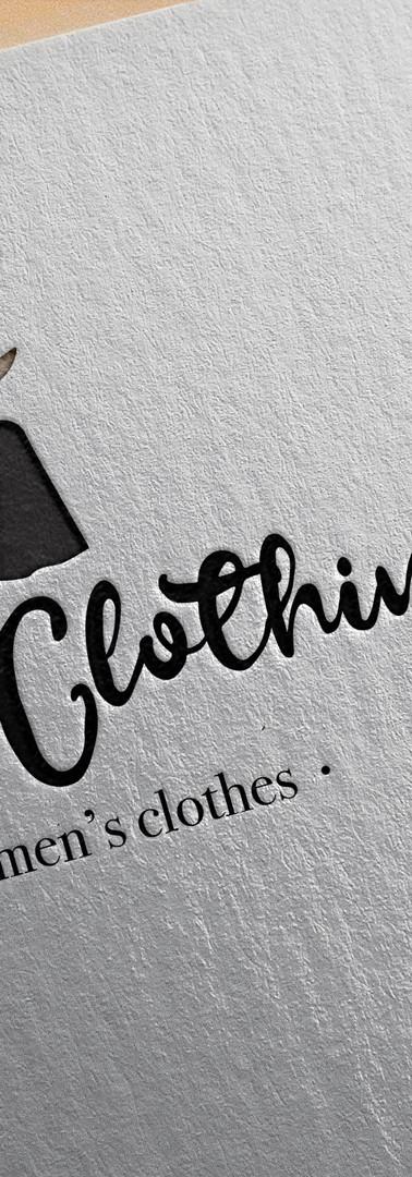 Logo réalisé pour une boutique de vêtements pour femme
