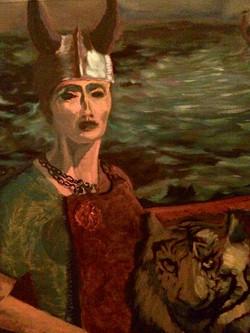 Gail as Viking