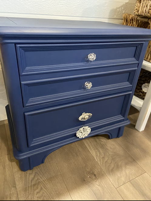 Updated Blue Side table