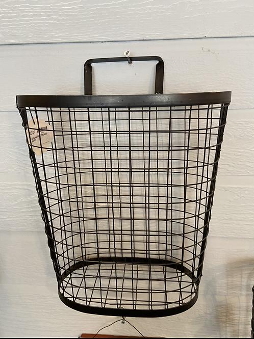 Large metal hanging basket