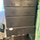 Thumbnail: Distressed gray cabinet