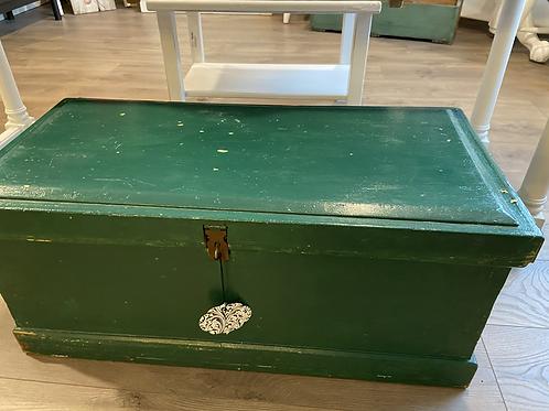 Green chippy storage box