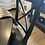 Thumbnail: Black dining set with four chairs
