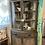 Thumbnail: Bassett antiqued gray corner hutch