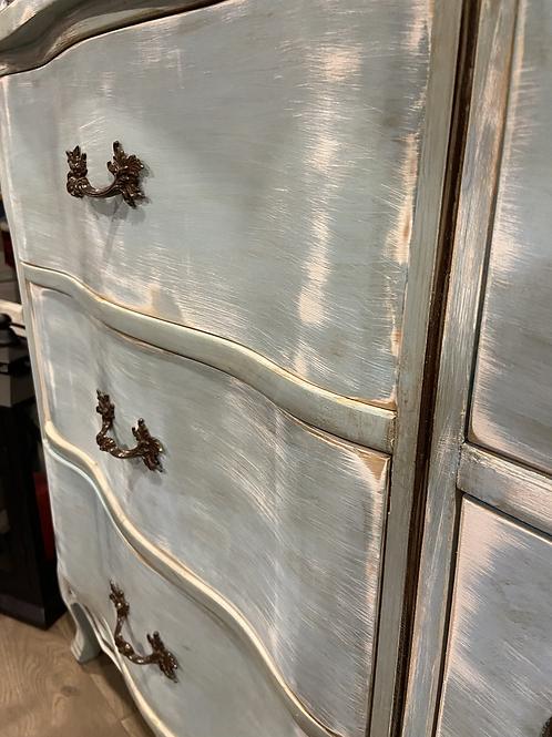 Distressed Blue dresser or buffet