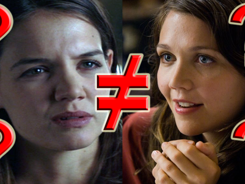 Am I The Only One Who Noticed The Character Rachel Dawes Was Played By A Completely Different Actres