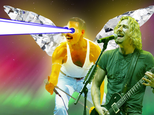 Time Traveling Music Reviewer: Nickelback Just Played Their Last Concert And Angel Freddie Mercury S