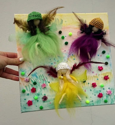 needle-felted-3d-picture-dancing-fairies-spring