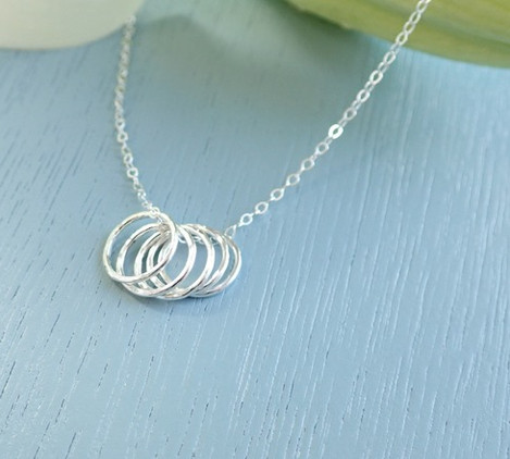 silver-five-ring-necklace