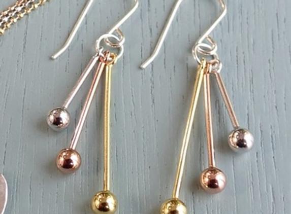 multitone-sterling-silver-earrings