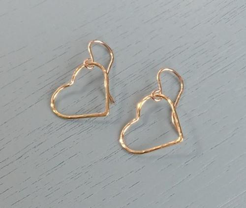 gold-hammered-heart-earrings
