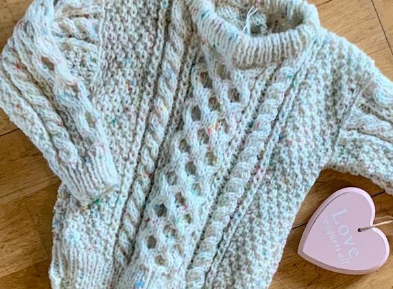 baby-aran-style-hand-knit-jumper