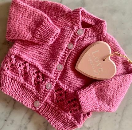 hand-knit-baby-cardigan