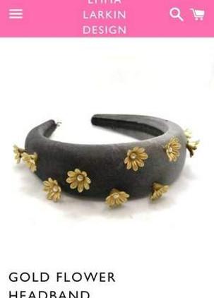gold-flower-headband