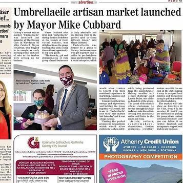 Galway Advertiser June 2021 Umbrella Eil
