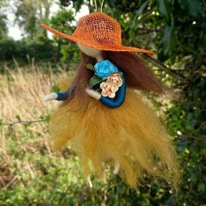 spring-needle-felted-girl-hanging-decoration-1
