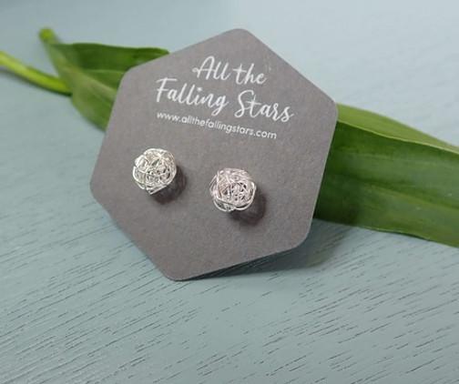 silver-wire-ball-earrings