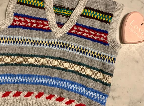 ferile-handknit-kids-v-neck-sleeveless-jumper