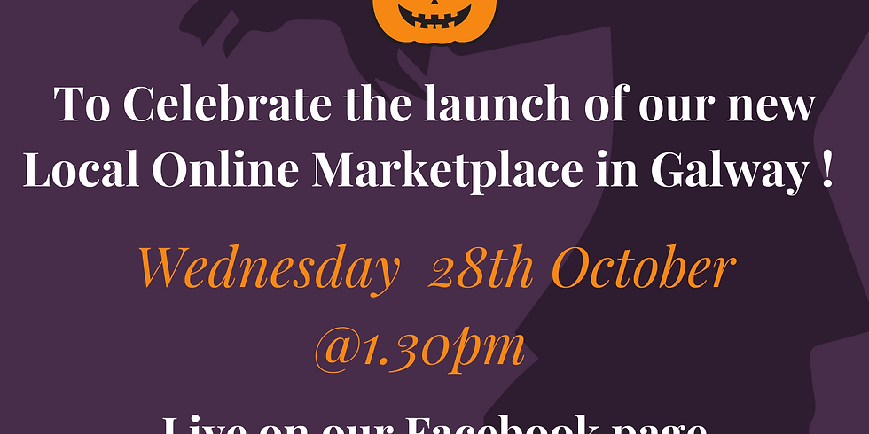Live Launch of Galway's new Local Online Marketplace