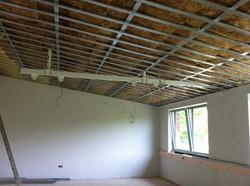 Das Dach ist fast fertig!