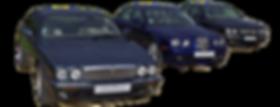 Trois jaguars de Rinjonneau Automobiles en location